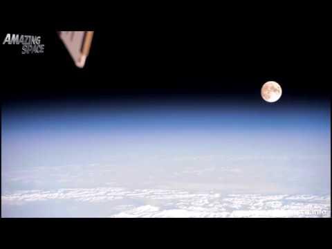 ЖЕСТЬ, Запрещенные съемки НАСА с искажением голограммы Луны и Солнца над Плоской Землей