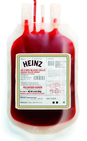 Кровь heinz