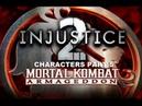 Mortal Kombat: Armageddon (K.A.F) - Injustice 2 characters - gameplay part 5
