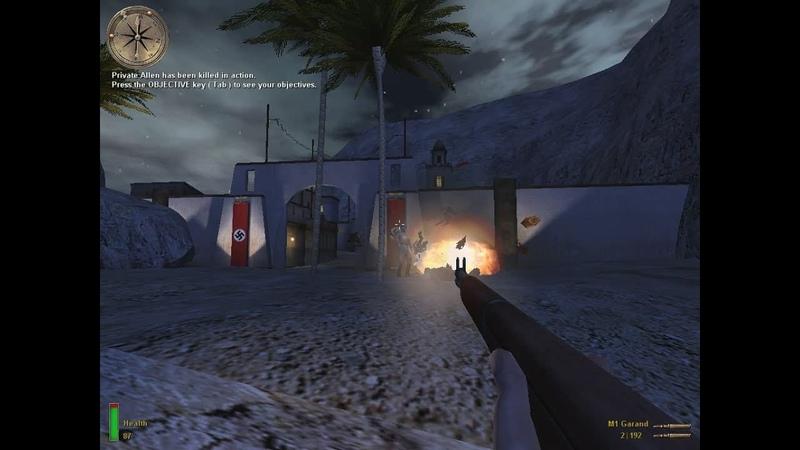 Medal of Honor Allied Assault (01) Понеслась!
