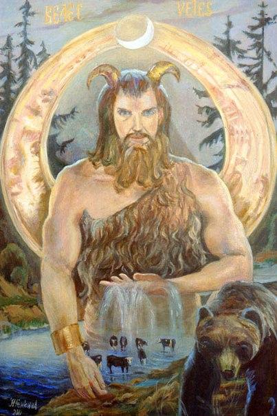 Волос бог чего у славян