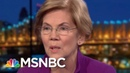 Elizabeth Warren: Endless War In Syria, Afghanistan Is Not Working | Rachel Maddow | MSNBC
