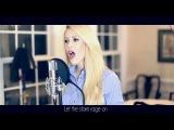 Disney's Frozen 'Let It Go' - Idina Menzel (Cover by Elizabeth South) - with Lyrics