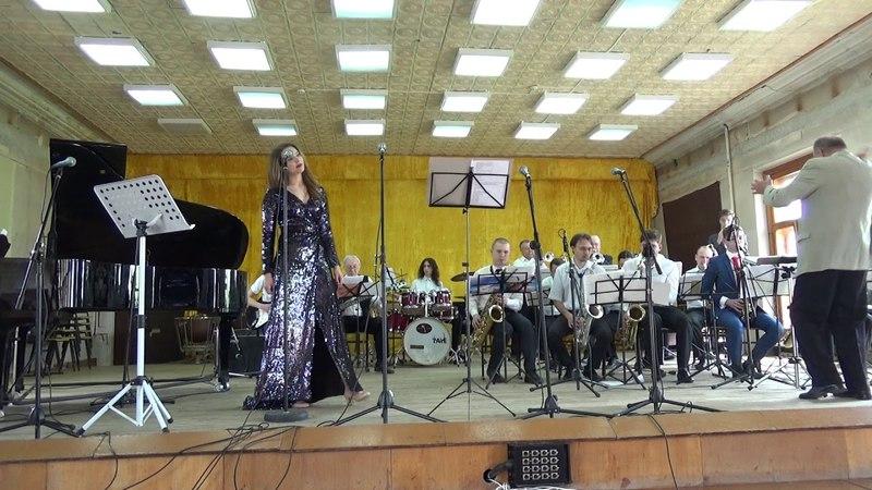 Сольный концерт М.Масловой в сопровождении биг-бэнда под упр. К.А.Полищука 3ч.