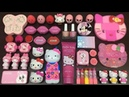 Slime Mixing Special Series PINK Hello Kitty Mixing Random Things into Slime