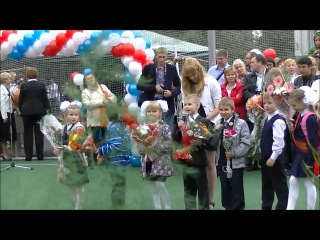 2 сентября 2013 года - День знаний в школе № 191 Красногвардейского района