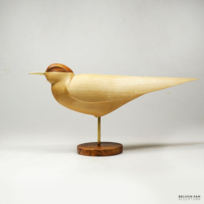 Скульптура «Чайка и ветер»
