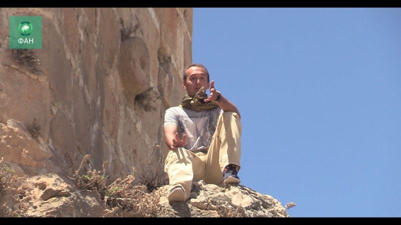 Сирия: съемочная группа ФАН побывала в крепости Масьяф