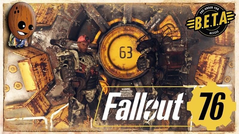 Fallout 76 13➤Маунт Блэр, заброшенная выработка. Робот-охранник кампании Хорнрайт