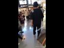 2018/06/13 Kim Hyun Joong at KIX go back to Korea (Fan Cam)