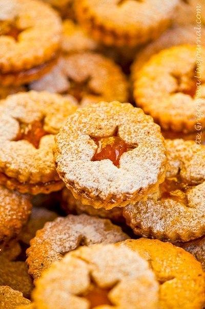 Линцерское печенье рецепт с фото