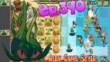 Plants vs. Zombies 2 New plant Tangle Kelp - Big Wave Beach Day 5 (Ep.390)