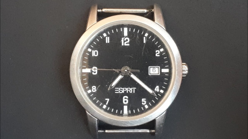 ESPRIT water resistant all stainless steel 3847