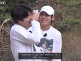 TAE ACCIDENTALLY HIT JUNGKOOK IN THE EYE WITH THE RACKET HSJSJ .mp4