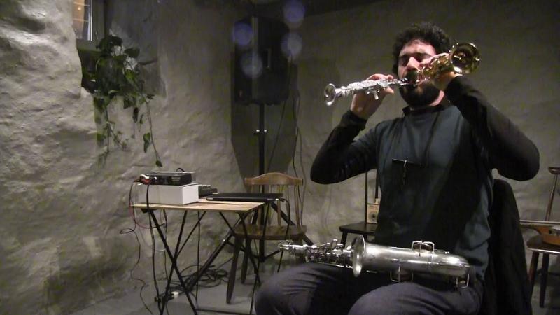 Dario Fariello live @ Nonfigurativ Musikk Tønsberg 4 2 2019