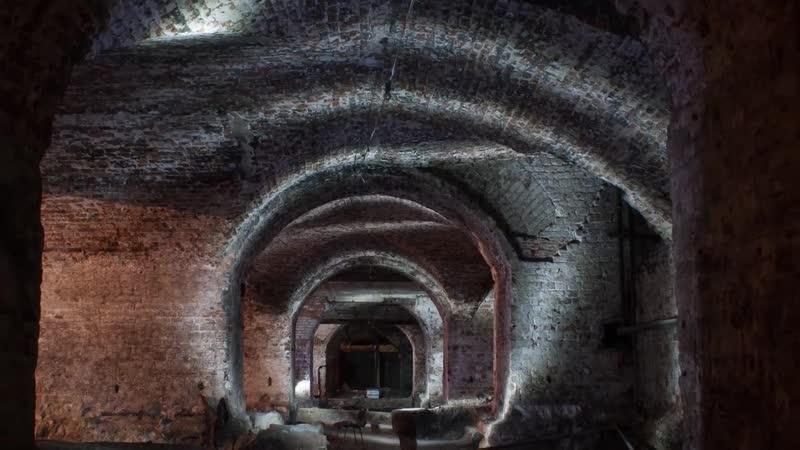 Аквазия Подвалы, где нашли скелеты _ Побег от охраны