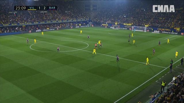 «Вильярреал» — «Барселона». Гол Сэмюэля Чуквуэзе
