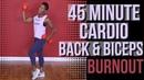Cardio Back Bicep Burn Strength Training Cardio Follow Along