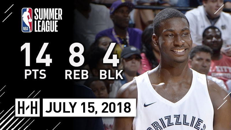 Jaren Jackson Jr Full Highlights vs 76ers (2018.07.14) NBA Summer League - 14 Pts, 8 Reb, 4 Blk