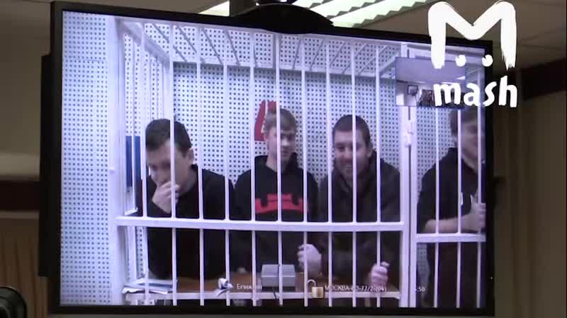 Реакция Мамаева и Кокорина на решение судьи о продлении ареста Первый возмущается второй смеется