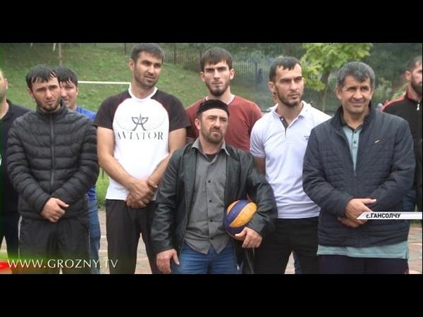 В селении Гансолчу прошли мероприятия, посвященные памяти Ахмата-Хаджи Кадырова