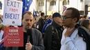 Марш против брексита сотни британцев требуют провести новый референдум