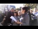 Выступление Марии Прусаковой на сорвавшемся митинге в Барнауле 1