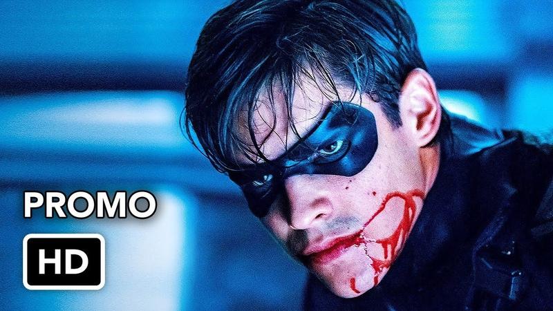 Titans 1x07 Promo Asylum HD DC Universe