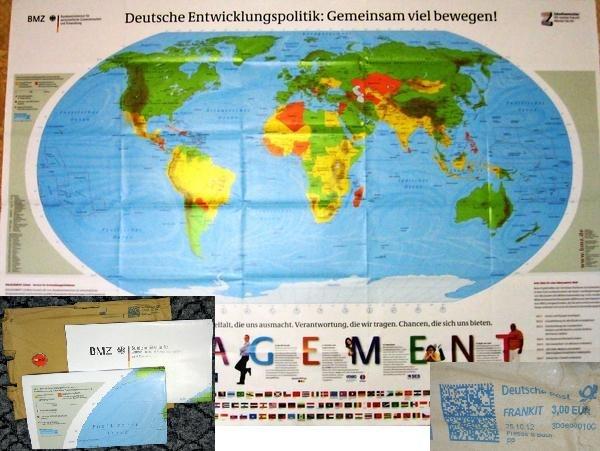карта мира халявная из германии