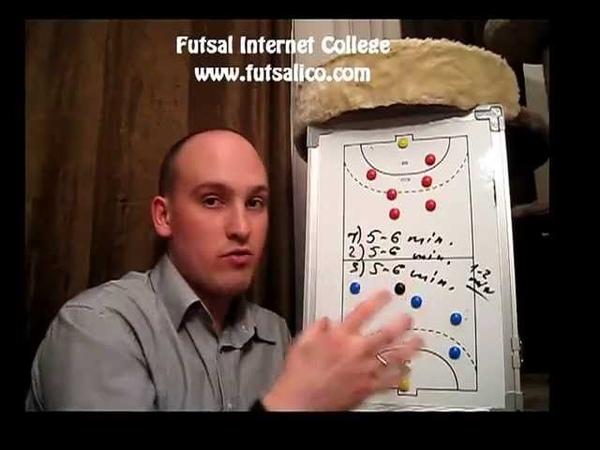 How To Train Legs (Futsal Drills) [ Coaching Futsal Tactics 5x5 ]