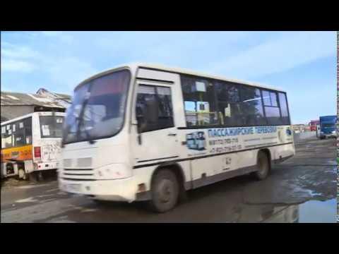 Автобусы частных перевозчиков проверили перед выходом на линию в Вологде