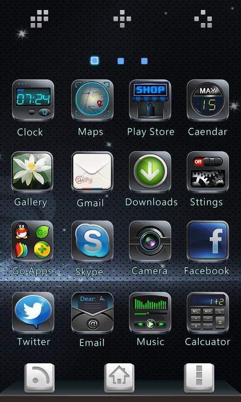 Чёрная тема для Андроид ОС