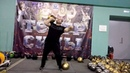 Попытка доношения 116 кг. Гири:58кг 58кг. Two hands anyhow attempt-116kg. А pair of 58kg kettlebells