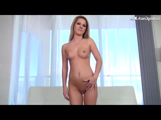 Castingcouch-x bella rose gets interviewed and fucked on the casting couch x big natural boobs blonde model facial cumshot