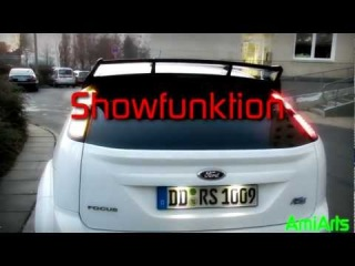 Ford Focus RS MK2 in.pro DUO-LED Taillight with Show Effekt 2