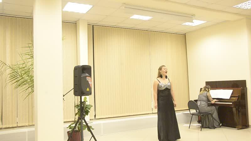 Астуриана, М. де Фалья, поёт Полина Фомичёва, ф-но Марина Колесникова