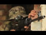 Снайперы ВВО учатся действовать в ночном лесу вслепую