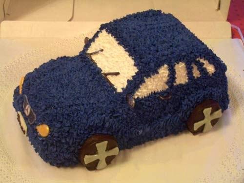 Торт машина фото своими руками