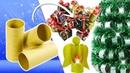 Adornos Navideños con tubos de papel higiénico 3 Ideas Reciclaje Ecobrisa