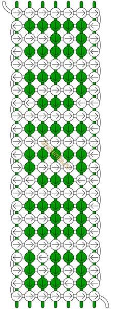 вот схема фенечки адидас