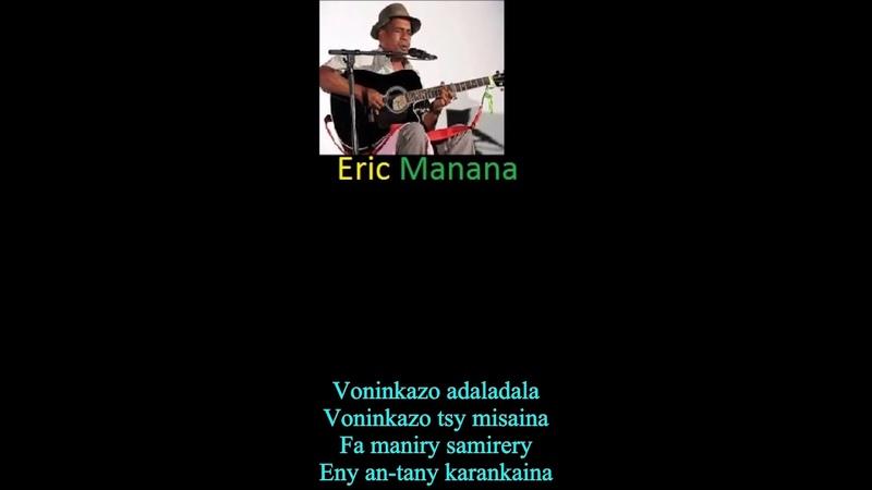 MADAGASCA Top singer Eric Manana Voninkazo adaladala Silly dreams Lyric