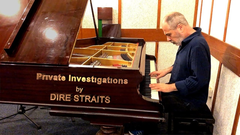 Haim Shapira (piano) Private Investigations by DIRE STRAITS