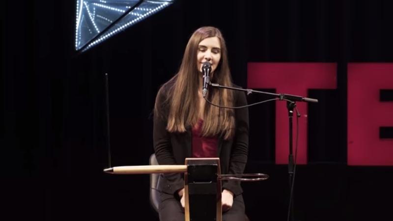 Carolina Eyck and her theremin | Carolina Eyck | TEDxDornbirn