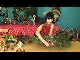 Рождественский венок своими руками (обучающее видео) [zhezelru]