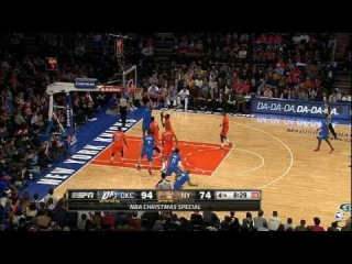 Nick Collison Finds Steven Adams for the Flush - Top NBA Christmas Play #10