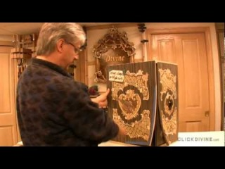 Click Divine | Closer Look | Artistic Marquetry Cabinet |