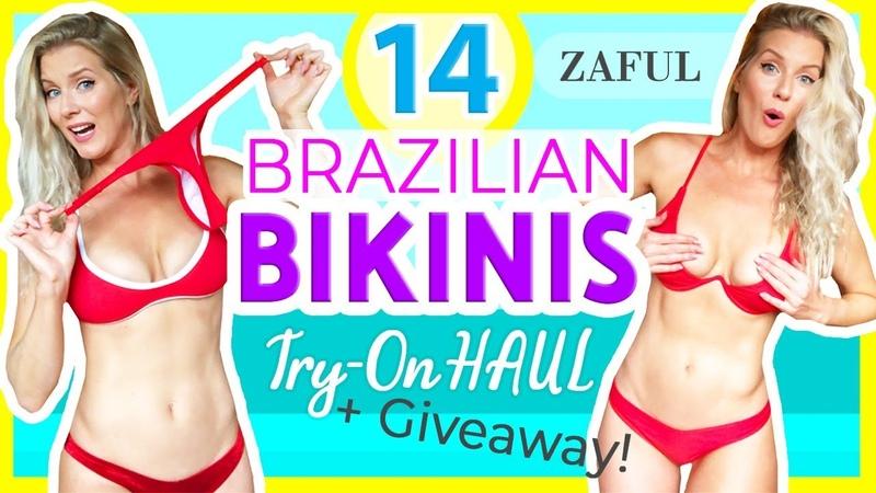 CHEEKY THONG BIKINI TRY ON HAUL 14 NEW Zaful Bikinis