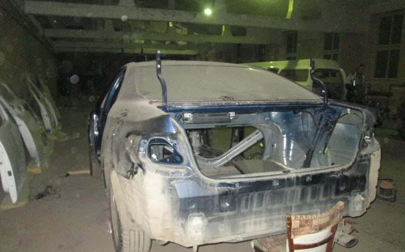 Разобранный Lexus