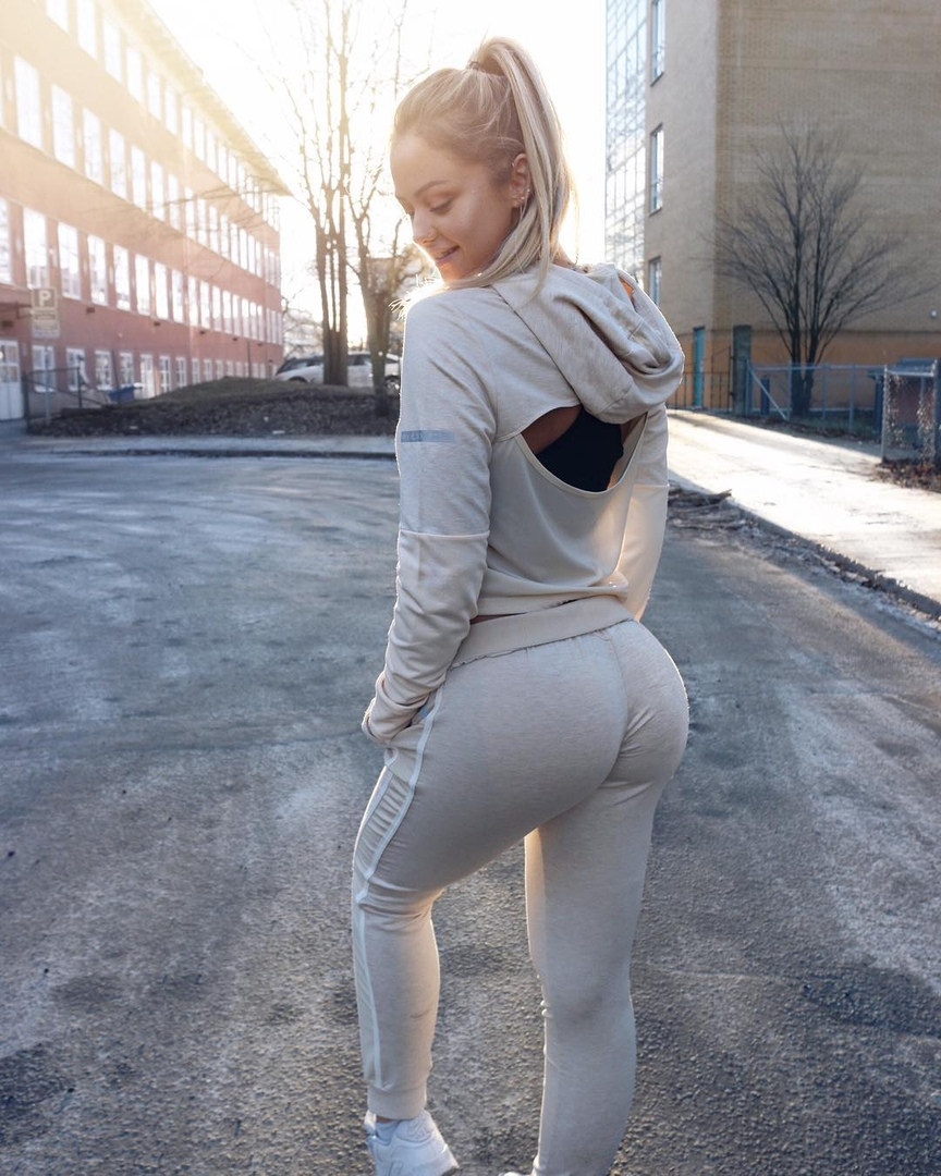 German cutie drilled in hose and nylons