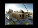 Строительство быстровозводимого дома из сборных панелей по канадской технологии